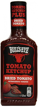 Bull's-Eye Dried Tomato Ketchup, Dosierflasche, 525 ml, 2er Pack (2 x 525 ml) - 1