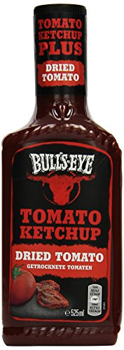 Bull's-Eye Dried Tomato Ketchup, Dosierflasche, 525 ml, 2er Pack (2 x 525 ml) - 1