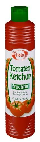 Hela Tomaten Ketchup, 6er Pack (6 x 800 ml Tube) - 1