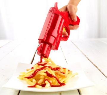 infactory Ketchup- und Senf-Pistole 2in1 - 3