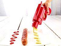 infactory Ketchup- und Senf-Pistole 2in1 - 7
