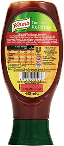 Knorr Ketchup Tomate, 8er Pack (8 x 430 ml) - 4