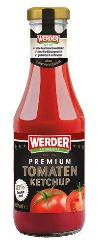 Werder Premium Tomatenketchup 450 ml - 1
